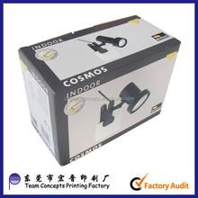 brown kraft paper corrugated carton box for shipping