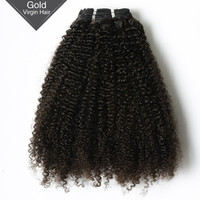 Fashionable Style!!! Factory Price VV Hair Natural Color Virgin Malaysian Curly Hair