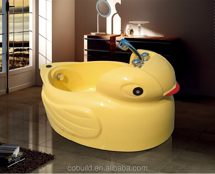 lucky yellow duck baby bathtub massage acrylic bathtub for. Black Bedroom Furniture Sets. Home Design Ideas