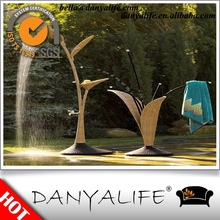 DYSHOWER-D1103A Danyalife New Design Pool Outdoor rattan shower