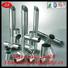 China customized Stainless steel sanitary pipe fitting/malleable iron pipe fittings