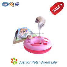 2015 China Sweet Factory Price Plastic Cat Teaser Toy Free Samples