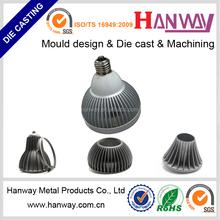 custom aluminum die casting led street lighting heat sink, die casting led flood lighting housing heat sink