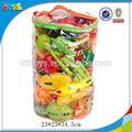 En71 approbationnquality apprentissag cuisson, de fruits et légumes fruits jouets en plastique fixé