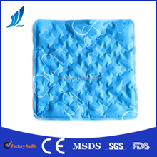 Customized cooling gel cushion/cooling pad/massage cooling gel mat for pillow, seat and bed