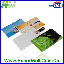 Full Area UV Printing Card Design USB Drive Flash Memory
