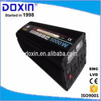 5kw power converter 12v 24v 36v 48v 60v dc to ac power inverter 5000w