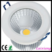 5w cob led downlight dimmable cob led downlight led cob light with absolute top quality, downlight led cob light with white hous