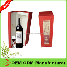 New product wedding gift box for wine glasses