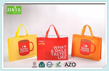 2015 Alibaba China extra large reusable eco-friendly recycled material non-woven tote bag
