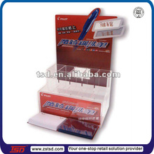 New design red acrylic ballpen organizer stand with memo