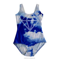 2014 sexy one piece swimwear Printing Beachwear Wholesale,latest sexy girls swimwear S125-239