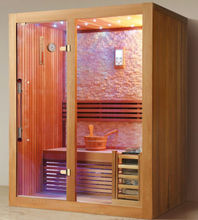 2 People couple Sauna room wood steam room FS-1238 with CE