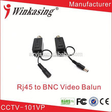 Real time Transimission Cheap video balun active simple installation