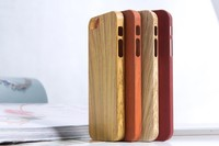 plastic wooden like hard case for iphone 5