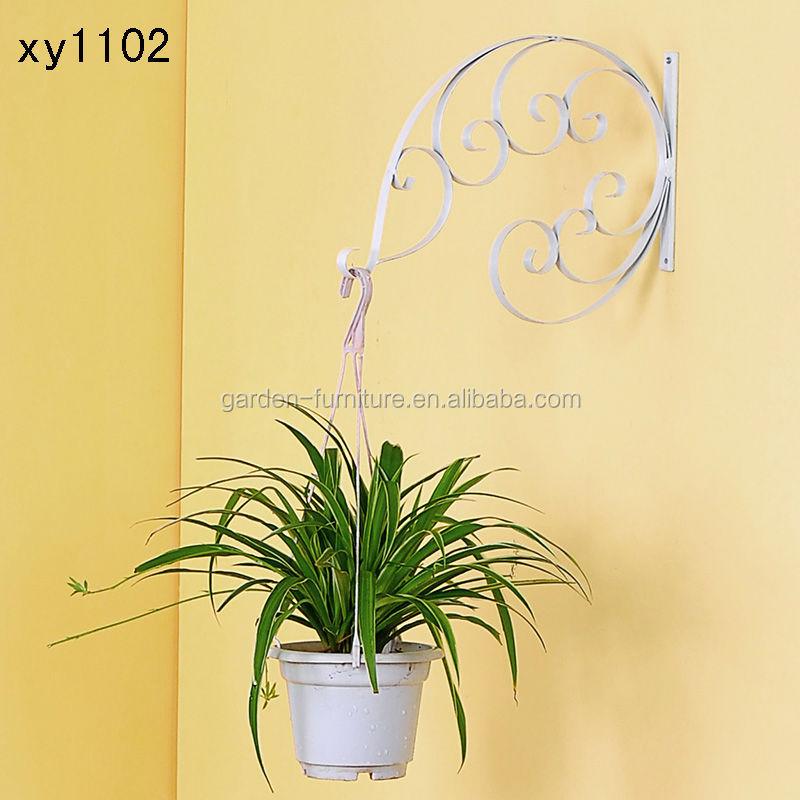 Xy1102 Metal Hanging Plant Basket Brackets Hooks Scroll Works Home ...