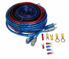 good quality China supplier for clear jacket cable 4/8 gauge car amp wiring kit