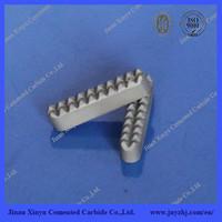 Tungsten Carbide Grapper Inserts Cemented Carbide Bit Holder