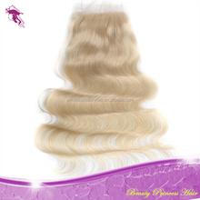 Good Selling Super Quality Body Wave Cheap Hair Lace Closure Color 613