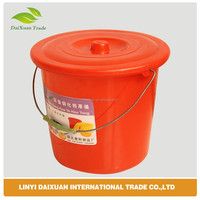 SD-32 10 litre small plastic buckets with lids