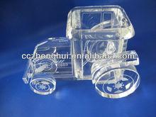 Stationery crystal car model