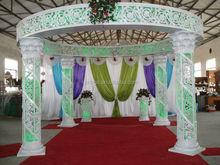 2015 New indian wedding mandap designs with drapery