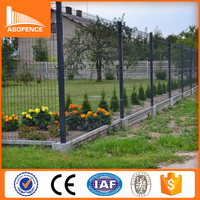 curve powder coating Security China Wire Fencing