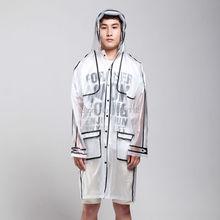 women rain wear clothing logo print high quality