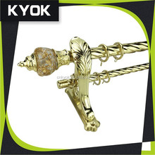 KYOK new design curtain pipe set,popular style curtain pipe and accessory,hot selling curtain pipe