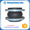shock & noise reducer flexible rubber pipe coupling compensator