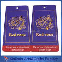cheap custom jeans paper tag design