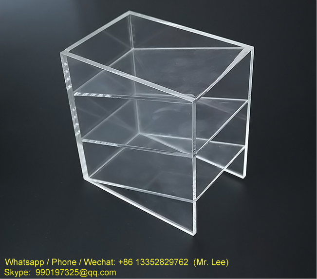 Cheap 3 tiers clear acrylic pencil display case (2).png