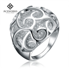 Fine Jewelry Fashion Designs 925 Sterling Silver CZ Ring