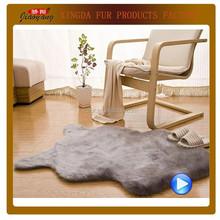 New style faux sheepskin rug ,faux sheepskin plate