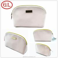 2015 Small Flat Modella Leather Trendy Cosmetic Bag Lady PU Cosmetic Bag