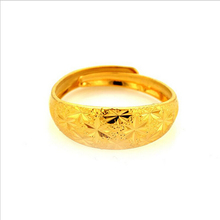 Fashion brand starry matte brass ring jewelry for women