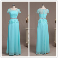 Real sample new evening dress/ lace evening dress