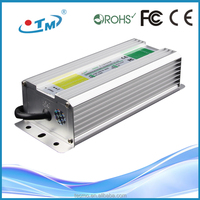 Hot sale IP67 waterproof 12v 5A adaptor ac/dc led driver ac 230v power supply with CE RoHs FCC
