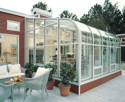 popular party show strong aluminium sunroom style