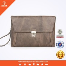 Genuine Leather Tablet Computer Bag With Functional Card Slots