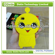 Cute CJ7 ET Alien Dog Animal Silicone Phone Case for iPhone 6