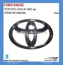 toyota hiace front badge for KDH 200,commuter,van