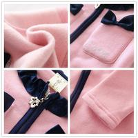 s девочек Одежда набор розовый детей пальто + юбка милая девушка Детская одежда на возраст 2-8 ks-1566