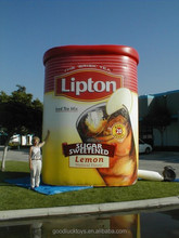 gaint inflatable 20ft lipton box for Advertising