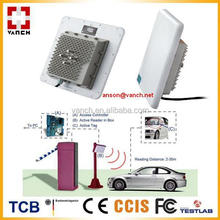 wireless UHF RFID READER for car/bus/people tracking