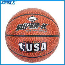PU Brown Basketball, Super-K Adult Official Basketball SKB047