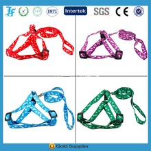 New printed cute soft nylon Puppy dog harness pet dog harness
