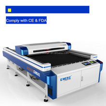 1-1.5mm Carbon Steel & Stainless steel and non-metal 20mm acrylic laser cutting machine LC1325D with 150W Yongli laser tube