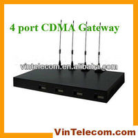 4 channels CDMA FWT/ CDMA gateway/ CDMA terminal 800/1900Mhz