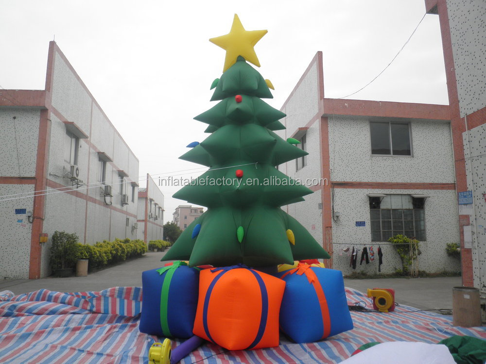 Decoration cheap christmas inflatable trees for sale buy for Cheap house decorations for sale